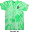 Mens Yoga Shirt Hippie Sun Patch Pocket Print Twist Tie Dye Tee