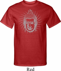 Mens Yoga Shirt Iconic Buddha Tall Tee T-Shirt