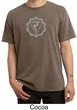 Mens Yoga Shirt Manipura Chakra Meditation Pigment Dyed T-shirt