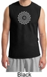 Mens Yoga Shirt Sahasrara Chakra Meditation Muscle Shirt