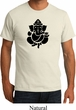 Mens Yoga Shirt Shadow Ganesha Organic Tee T-Shirt