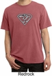 Mens Yoga Shirt Super OM Pigment Dyed T-Shirt