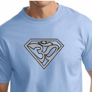 Mens Yoga Shirt Super OM Tall T-Shirt