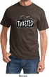 Mens Yoga Shirt Twisted Tee T-Shirt