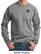 Mens Yoga Sweatshirt – Aum Patch Sanskrit Pocket Print Sweat Shirt