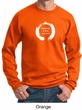 Mens Yoga Sweatshirt Enso Happiness Sweat Shirt