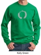 Mens Yoga Sweatshirt � Enso Zen Meditation Adult Sweat Shirt