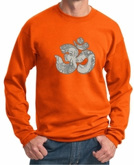 Mens Yoga Sweatshirt Ganesha OM Sweat Shirt