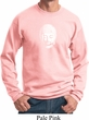Mens Yoga Sweatshirt Little Buddha Head Sweat Shirt