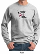 Mens Yoga Sweatshirt Yoga Now Wine Later Sweat Shirt
