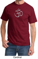 Mens Yoga T-shirt - Aum Symbol Meditation Adult Tee Shirt