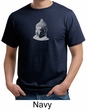 Mens Yoga T-Shirt - Buddha Buddhist Organic Tee Shirt