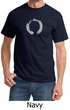 Mens Yoga T-shirt – Enso Zen Meditation Adult Tee Shirt