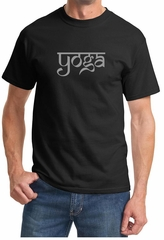 Mens Yoga T-shirt Sanskrit Yoga Text Tee