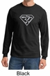 Mens Yoga T-Shirt Super OM Long Sleeve Shirt