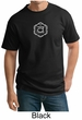 Mens Yoga T-shirt Swadhisthana Chakra Symbol Adult Tall Tee Shirt