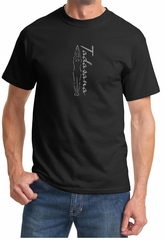 Mens Yoga T-shirt Tadasana Mountain Pose Tee