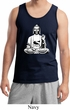 Mens Yoga Tank Top At Peace Buddha Tanktop