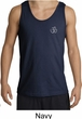 Mens Yoga Tank Top – Aum Hindu Patch Pocket Print Tanktop