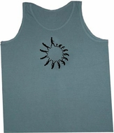 Mens Yoga Tank Top Human Evolution Meditation Adult Tanktop