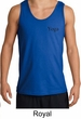 Mens Yoga Tank Top Yoga Logo Pocket Print Adult Tanktop
