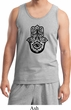 Mens Yoga Tanktop Black Hamsa Tank Top