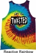 Mens Yoga Tanktop Twisted Tie Dye Tank Top