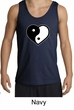 Mens Yoga Tanktop Yin Yang Heart Tank Top
