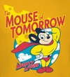 Mighty Mouse Adult T-shirt - Mouse of Tomorrow Gold Tee