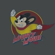 Mighty Mouse T-shirt - TV Series Mighty Circle Youth Kids Charcoal Tee