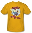 Mighty Mouse T-shirt - TV Series Vintage Day Youth Kids Gold Tee