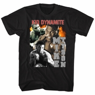 Mike Tyson Shirt Bootsier Black T-Shirt
