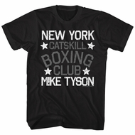 Mike Tyson Shirt Boxing Club Black T-Shirt