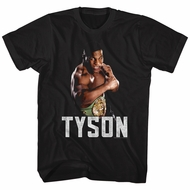 Mike Tyson Shirt Champion Black T-Shirt