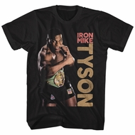 Mike Tyson Shirt Heavyweight Black T-Shirt