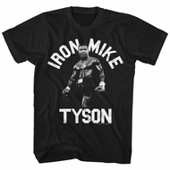 Mike Tyson Shirt Iron Mike 2 Black T-Shirt