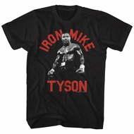Mike Tyson Shirt Iron Tyson 2 Black T-Shirt