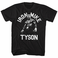 Mike Tyson Shirt Iron Tyson Black T-Shirt