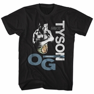 Mike Tyson Shirt Original Gangsta Black T-Shirt