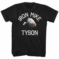 Mike Tyson Shirt Pigeon Black T-Shirt