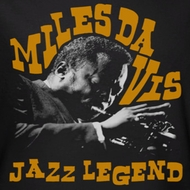 Mile Davis Jazz Legends Shirts