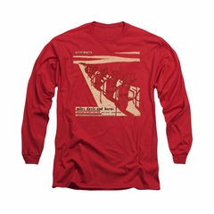 Miles Davis Shirt Davis And Horns Long Sleeve Red Tee T-Shirt