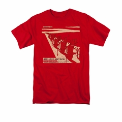 Miles Davis Shirt Davis And Horns Red T-Shirt