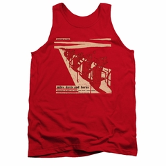 Miles Davis Shirt Tank Top Davis And Horns Red Tanktop