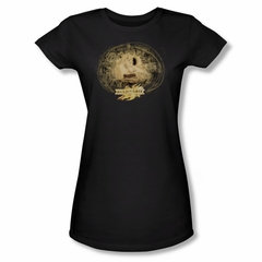 Mirrormask Shirt Juniors Sketch Black Tee T-Shirt