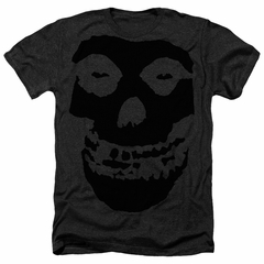 Misfits Shirt Black On Fiend Black T-Shirt
