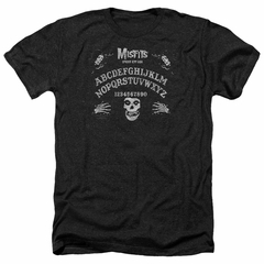 Misfits Shirt Ouija Board Heather Black T-Shirt