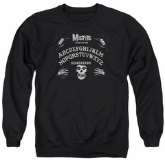 Misfits Sweatshirt Ouija Board Adult Black Sweat Shirt