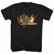 Monster Hunter 4 Shirt Ultimate Logo Black T-Shirt