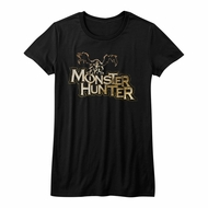 Monster Hunter Shirt Juniors Logo Black T-Shirt